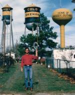 Larry in Okemah 1979